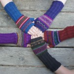 Fancy Arm Warmer - Fleece Lined